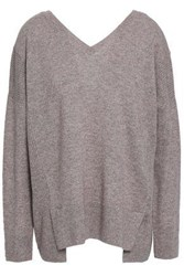 Charli Nohl Wool And Cashmere Blend Sweater Taupe