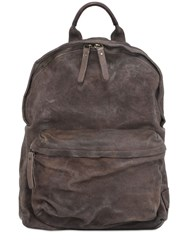 Officine Creative Reverse Leather Backpack