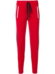 P.A.R.O.S.H. Runner Track Pants Red