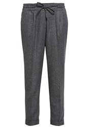 Opus Melosa Trousers Raven Grey Anthracite