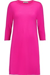 Autumn Cashmere Knitted Cashmere Mini Dress Pink