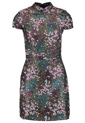 Miss Selfridge Cocktail Dress Party Dress Multi Bright Multicoloured