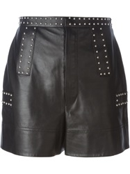 Givenchy Studded Shorts Black