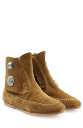 Giuseppe Zanotti Suede Moccasin Boots