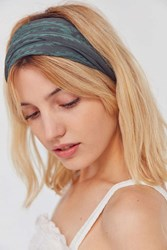 Urban Outfitters Cleo Wideband Headwrap Green