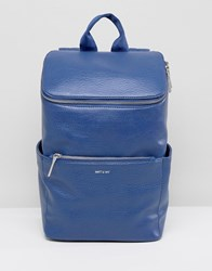 Matt And Nat Brave Backpack Blue
