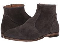 Eleventy Suede Side Zip Boot Taupe Men's Boots