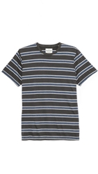 Splendid Short Sleeve Striped Crew T Shirt