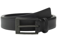Calvin Klein 35Mm Feather Edge Strap And Harness Buckle Belt Grey Men's Belts Gray