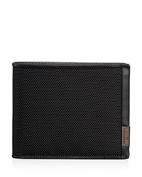 Tumi Alpha Global Wallet With Coin Pocket Black