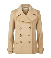 Michael Michael Kors Wool Peacoat Female Beige