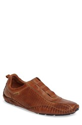 Pikolinos Men's Fuencarral Driving Shoe Brandy Leather