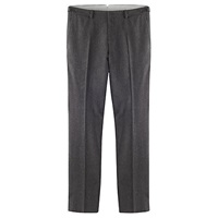 Jigsaw Herringbone Suit Trousers Charcoal
