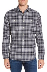 Grayers Men's 'Harper Heritage' Trim Fit Plaid Flannel Sport Shirt