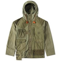 Monitaly Army Tent Mountain Parka Green