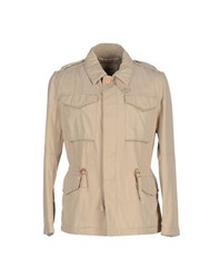 Siviglia Denim Coats And Jackets Jackets Men Beige