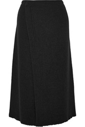 Isabel Marant Kiara Wool And Angora Blend Midi Wrap Skirt
