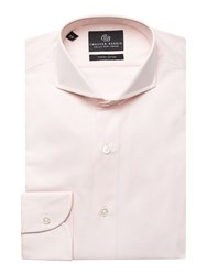 Chester Barrie Men's Richard Fil A Fil Shirt Pink