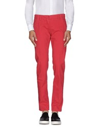 Maison Clochard Casual Pants Brick Red