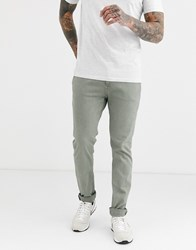 Replay Slim Chinos Green