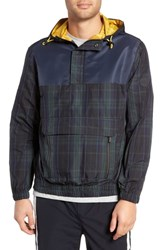 Native Youth Imperial Anorak Jacket Navy