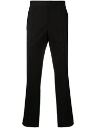 Yang Li Zipped Pocket Straight Trousers Black