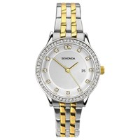 Sekonda Women's Date Two Tone Bracelet Strap Watch Silver Gold