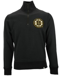 '47 Brand Men's Boston Bruins Cross Check Quarter Zip Pullover