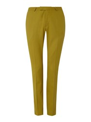 Noose And Monkey Men's Ellroy Suit Trousers Lime