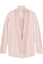 Autumn Cashmere Cable Knit Cotton Cardigan