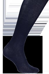 Boohoo Opaque Cotton Rich Tights Navy