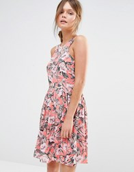 Oasis Tropical Floral Sundress Multi
