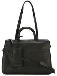 Marsell Marsa Ll Top Zip Tote Black