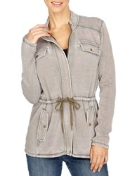 Lucky Brand Four Pocket Cotton Blend Jacket Ivy