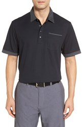 Travis Mathew Men's K Lew Pique Polo