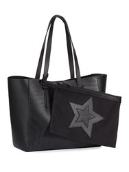 Kendall Kylie Shelly Star Tote Black