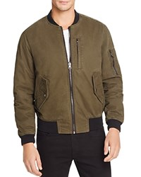 Blank Bomber Jacket Two Faced