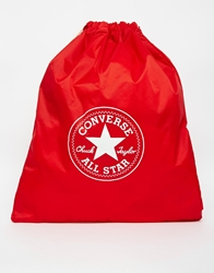 Converse All Star Drawstring Backpack Red