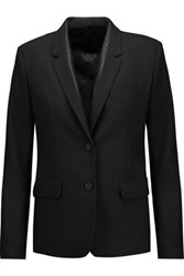Helmut Lang Stretch Wool Blazer Black