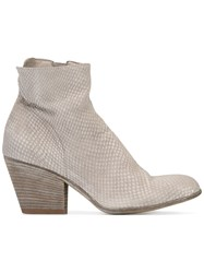 Officine Creative Ankle Boots Nude Neutrals