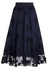 Coast Neive Lace Skirt Blue