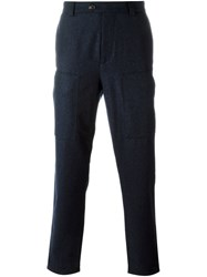 Brunello Cucinelli Side Pocket Trousers Blue