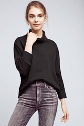 Anthropologie Bente Fleece Pullover Black