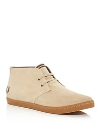 Fred Perry Byron Mid Top Sneakers Brown