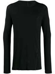 Masnada Round Neck Jumper Black