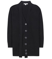 Marc Jacobs Wool And Cashmere Cardigan Black