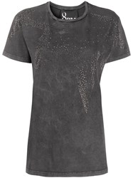 8Pm Rhinestone Star Distressed T Shirt 60