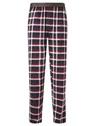 Emporio Armani Jersey Check Lounge Pants Multi