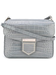 Givenchy Mini Nobile Crossbody Bag Women Calf Leather One Size Grey