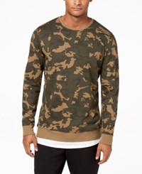American Rag Men's Layered Camo Sweatshirt Created For Macy's